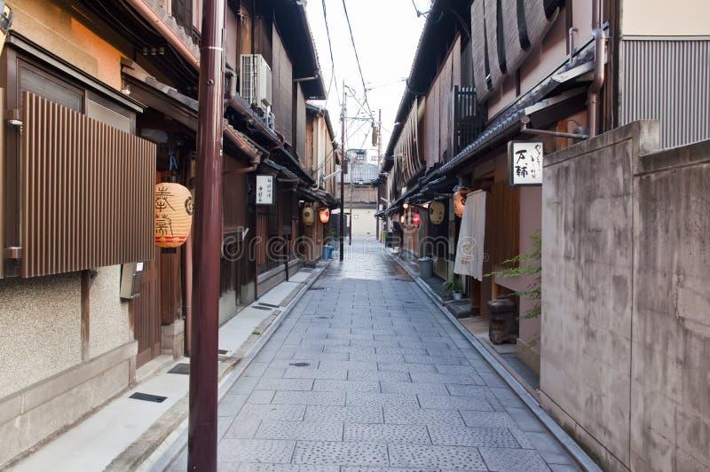 Distrito de Gion, Japão fotos de stock royalty free