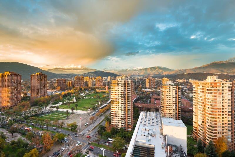 Distrito de Las Condes imagens de stock royalty free