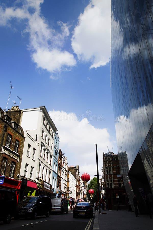 Distrito de Londres Chineese imagen de archivo libre de regalías