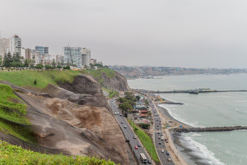 Distrito de Miraflores de Lima foto de archivo