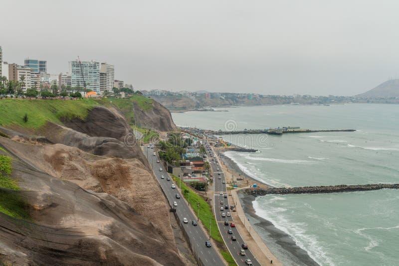 Distrito de Miraflores de Lima foto de archivo libre de regalías