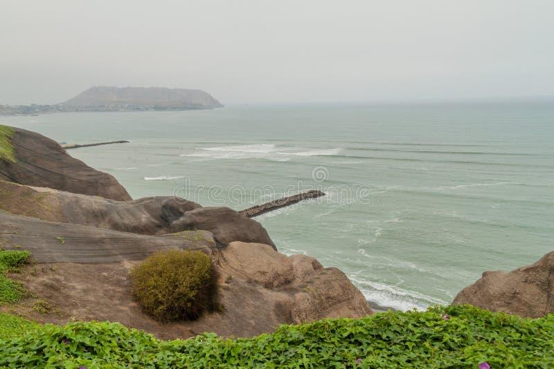 Distrito de Miraflores de Lima fotografía de archivo libre de regalías