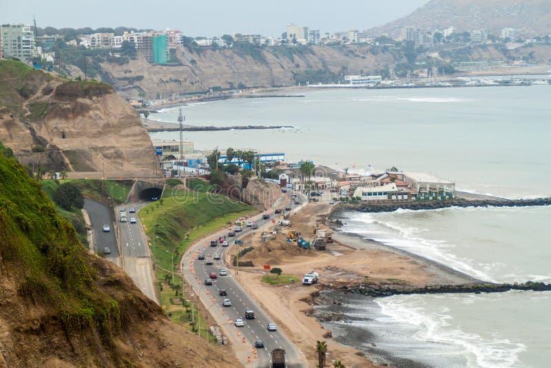 Distrito de Miraflores de Lima fotos de archivo