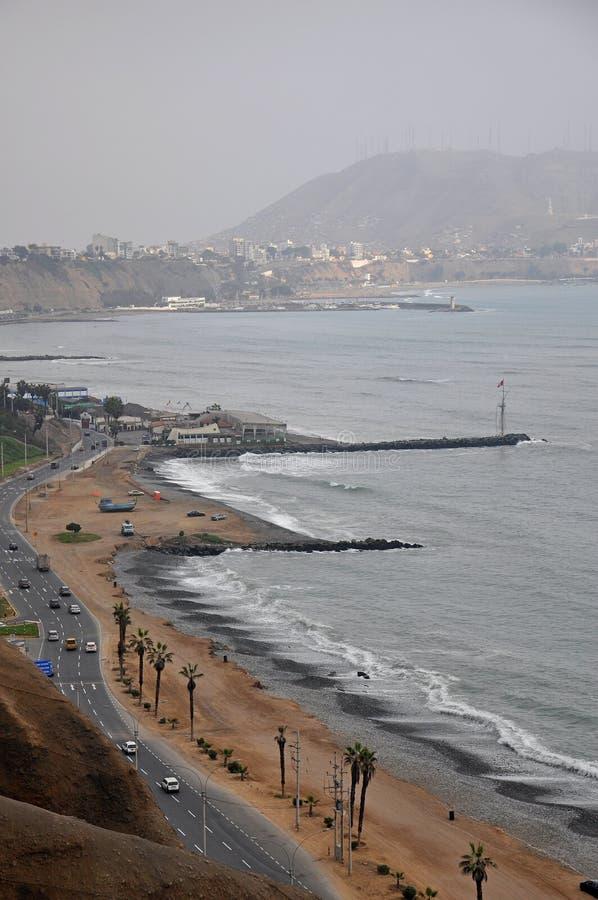 Distrito de Miraflores, Lima, Perú foto de archivo