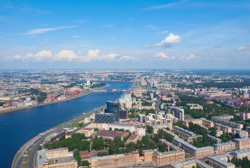 Distrito de Nevsky de St Petersburg imagem de stock