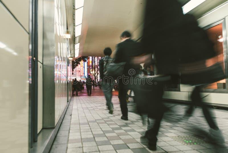 Distrito de Shinjuku no Tóquio foto de stock