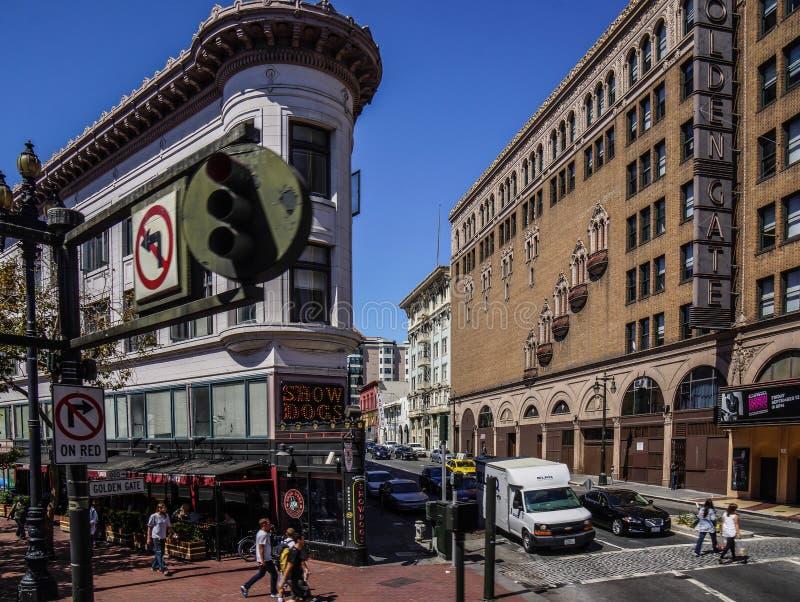 Distrito del inconformista de San Francisco foto de archivo libre de regalías