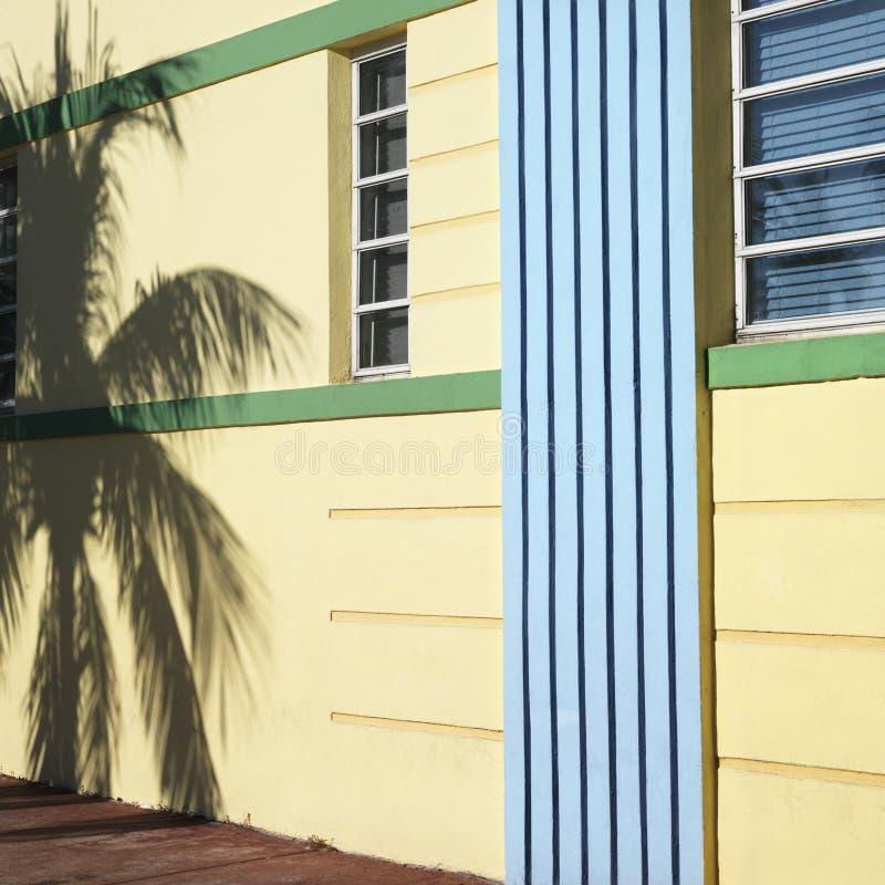 Distrito do art deco de Miami imagens de stock
