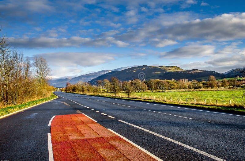 Distrito do lago Cumbria Inglaterra fotografia de stock