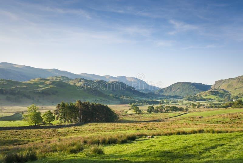 Distrito do lago, Cumbria, Reino Unido fotos de stock royalty free