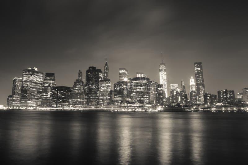 Distrito financeiro de New York foto de stock royalty free