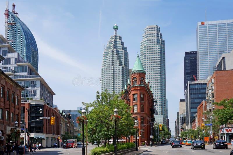 Distrito financiero de Toronto imagen de archivo