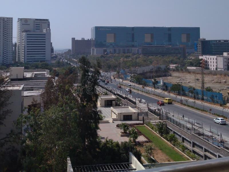 Distrito financiero, Hyderabad la India fotos de archivo