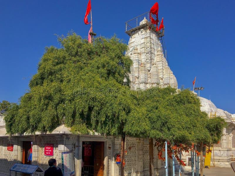 Distrito Gujarat, la India de Mehsana del templo de Becharaji o de Bahucharaji fotografía de archivo