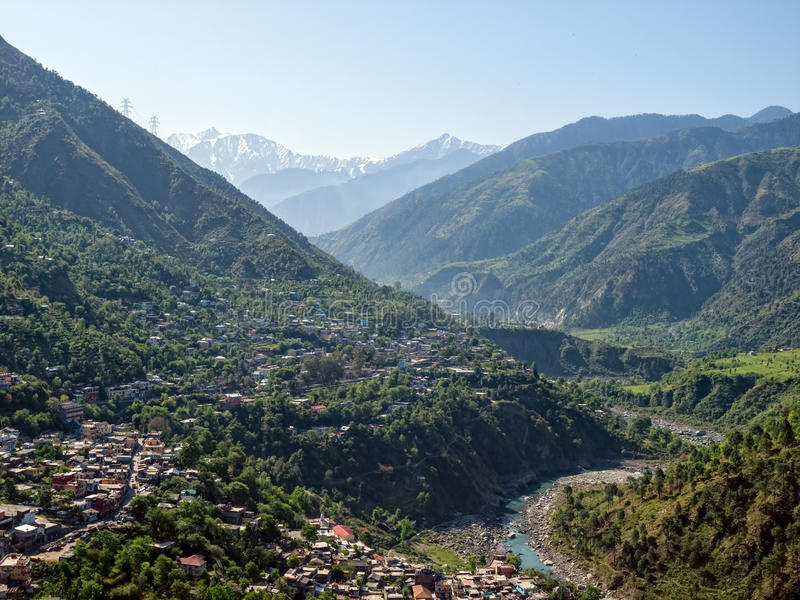 Distrito Himachal Pradesh India de Chamba imagem de stock