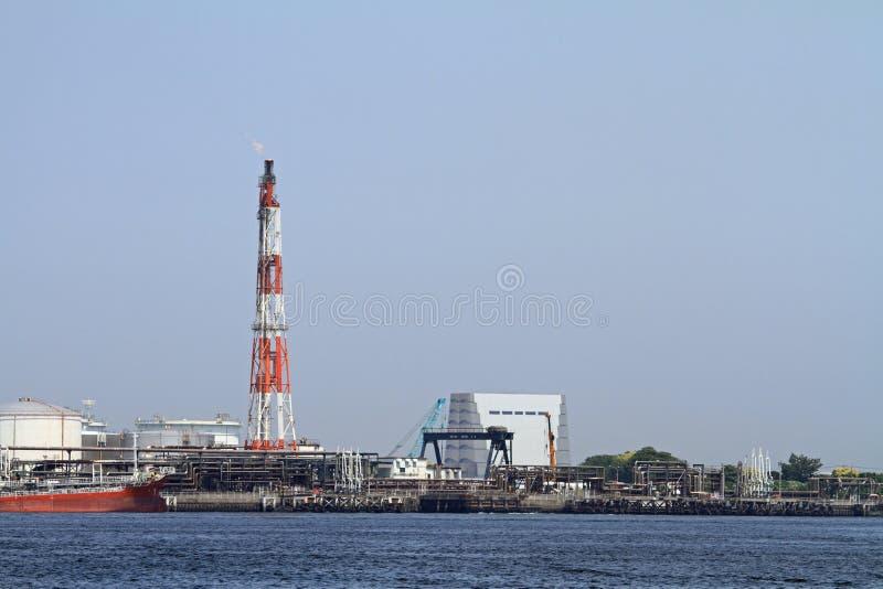 Distrito industrial de Keihin imagenes de archivo