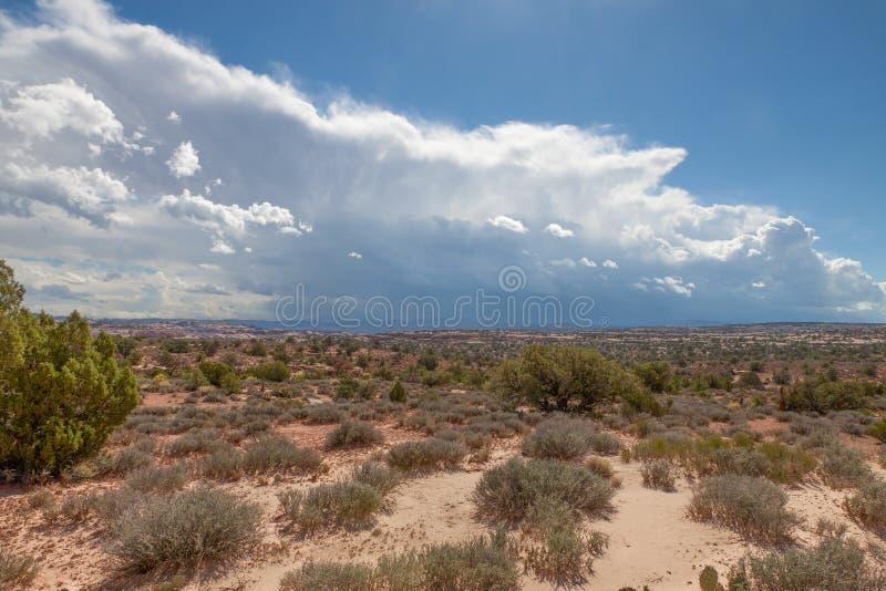 Distrito nacional del Parque-laberinto de Utah-Canyonlands imagenes de archivo