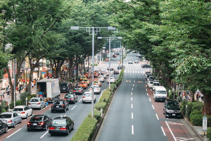 Distrito ocupado en Tokio, Japón imágenes de archivo libres de regalías