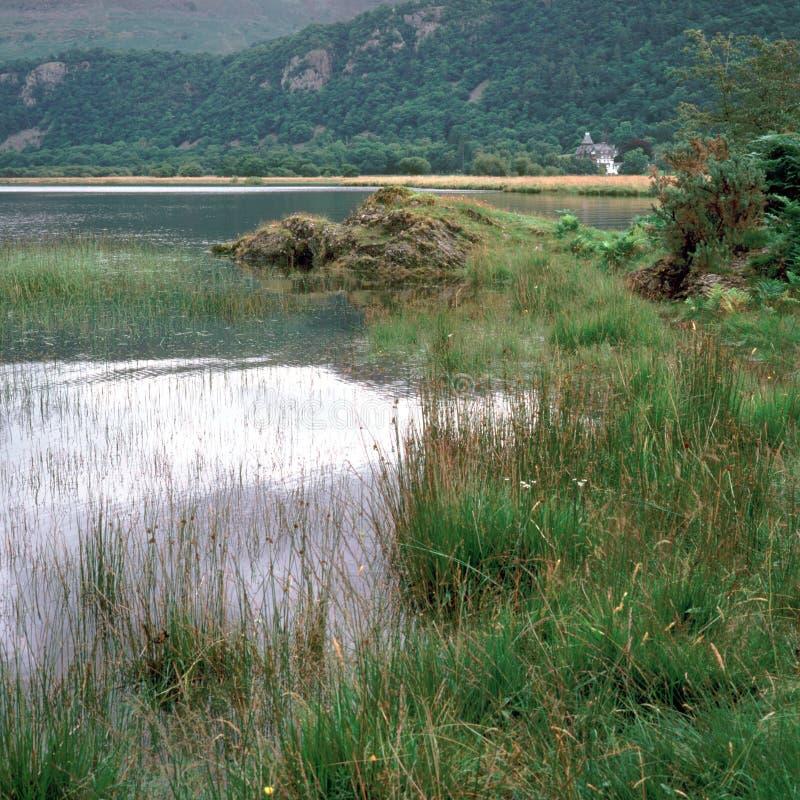 Distrito pitoresco do lago - Derwentwater fotos de stock