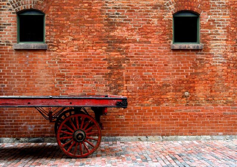 Distrito toronto da destilaria fotografia de stock royalty free