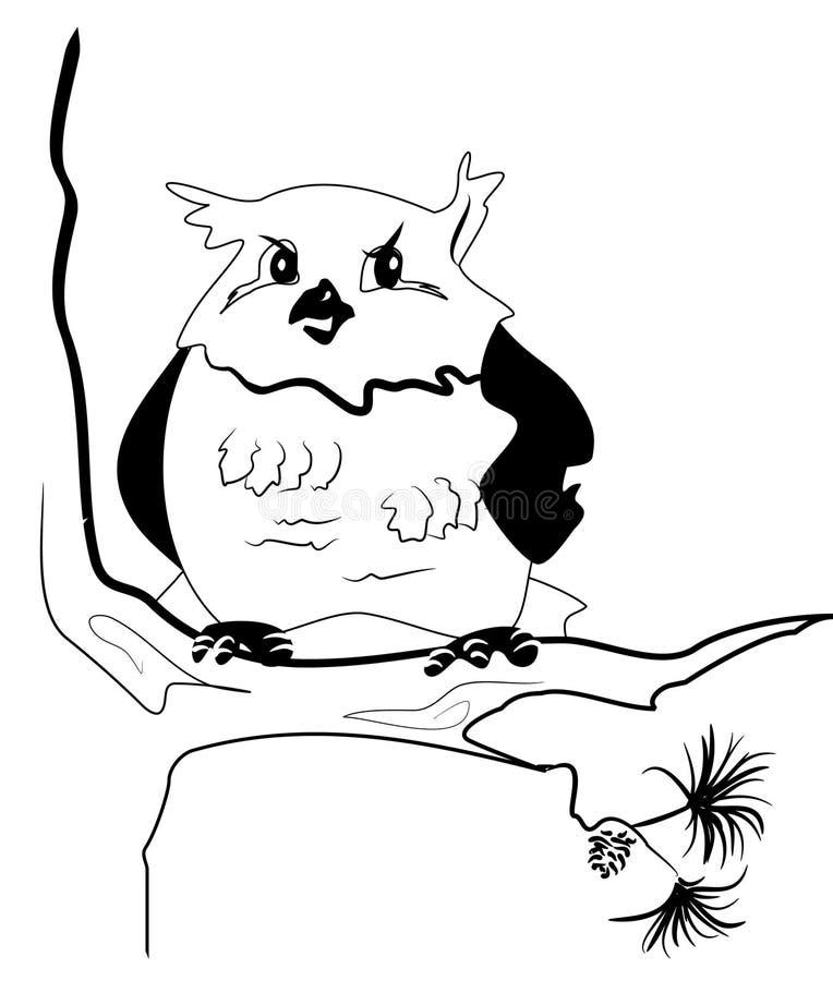 Download Distrustful look stock illustration. Image of white, bird - 12078960