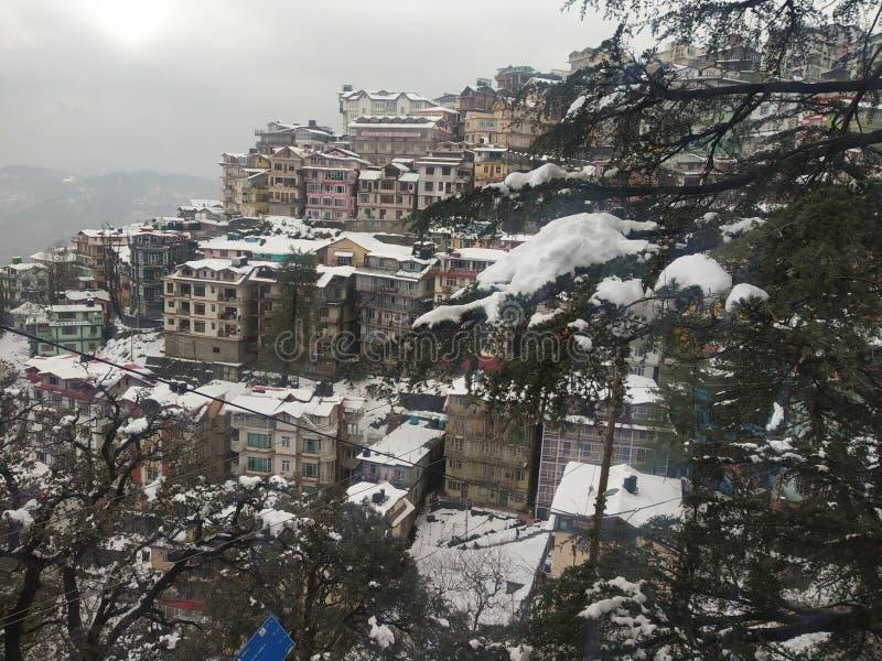 Distt de Himachal Pradesh Shimla fotografía de archivo libre de regalías