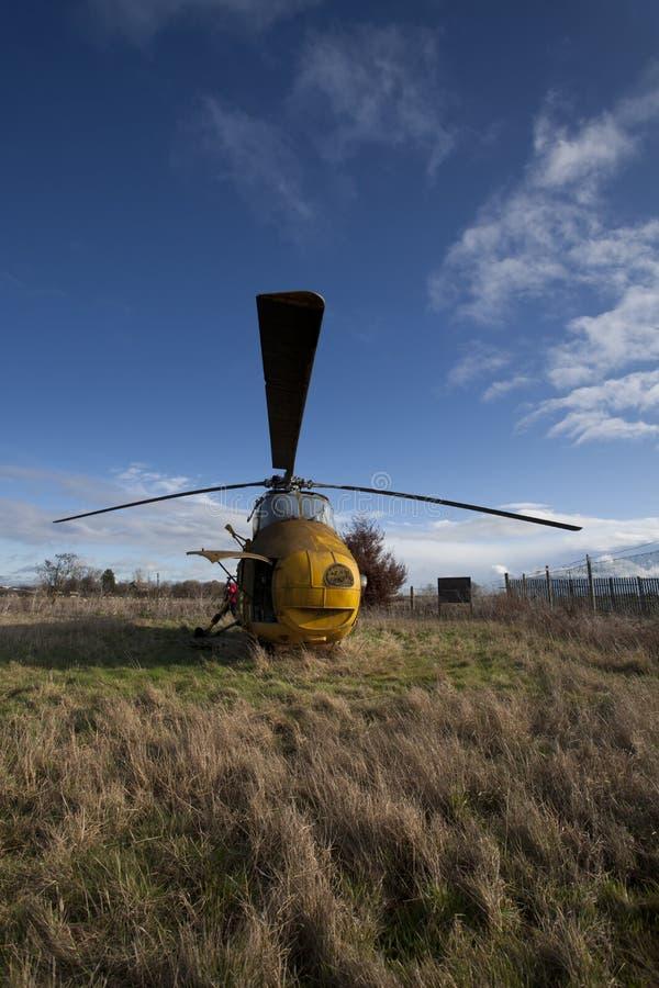 disused helikopter royaltyfria foton