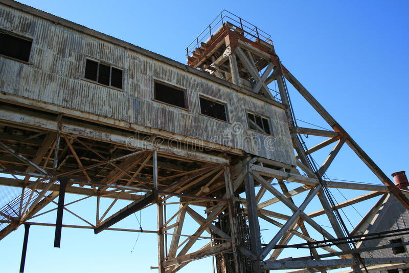 Disused Mine In Broken Hill Royalty Free Stock Images