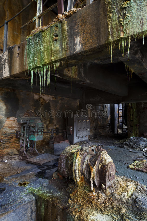 Disused Mine Facilities Stock Images