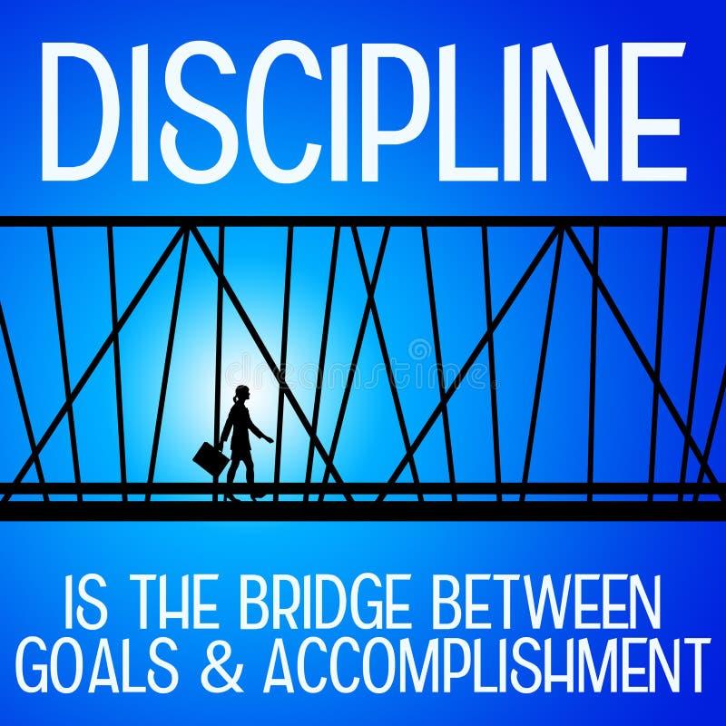 disziplin lizenzfreie abbildung