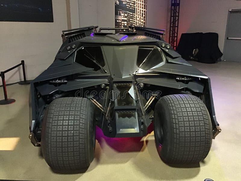 Dit is Batman's Batmobile stock foto