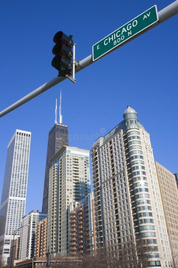 Dit is Chicago royalty-vrije stock afbeeldingen