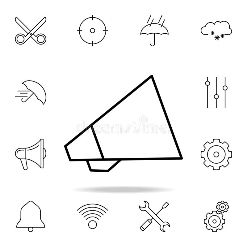 Dit is dossier van EPS10-formaat Gedetailleerde reeks eenvoudige pictogrammen Premie grafisch ontwerp Één van de inzamelingspicto vector illustratie