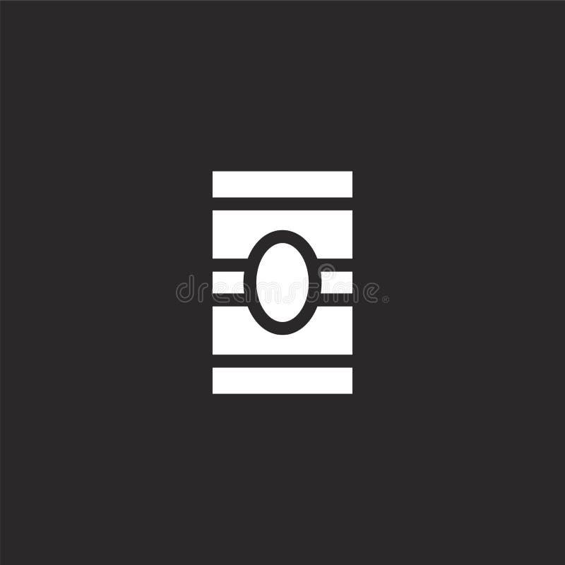 Dit is dossier van EPS10-formaat Gevuld bierpictogram voor websiteontwerp en mobiel, app ontwikkeling bierpictogram van gevulde g vector illustratie