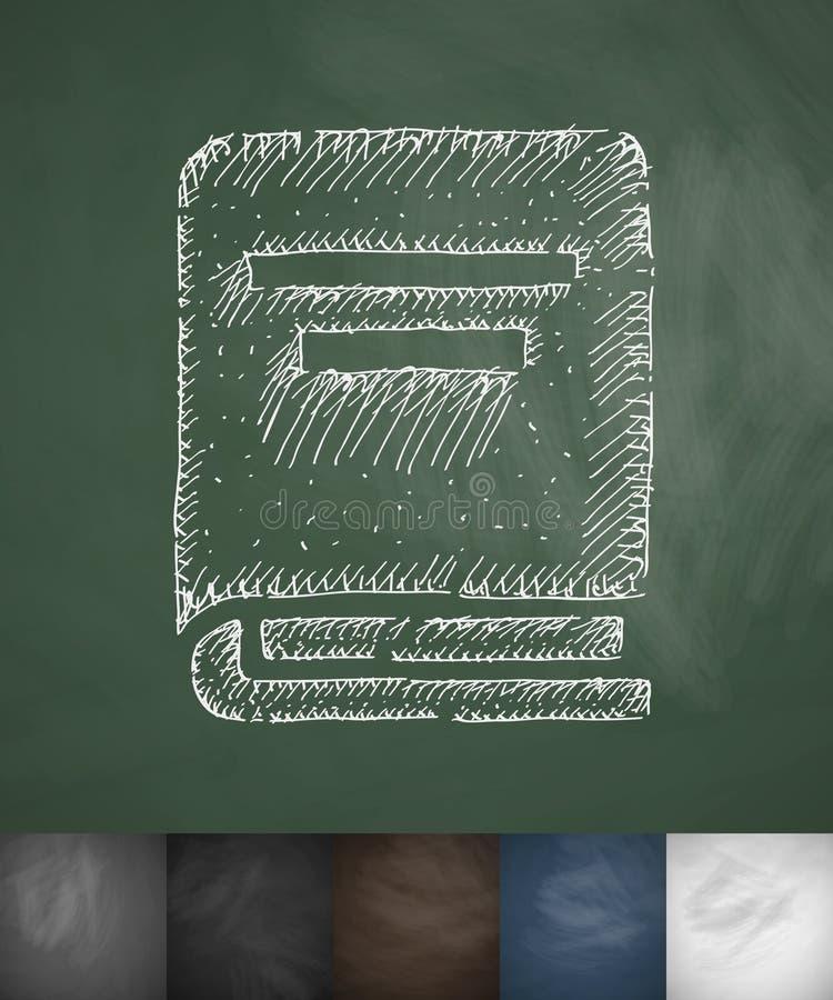 Dit is dossier van EPS10-formaat Hand getrokken vectorillustratie stock illustratie