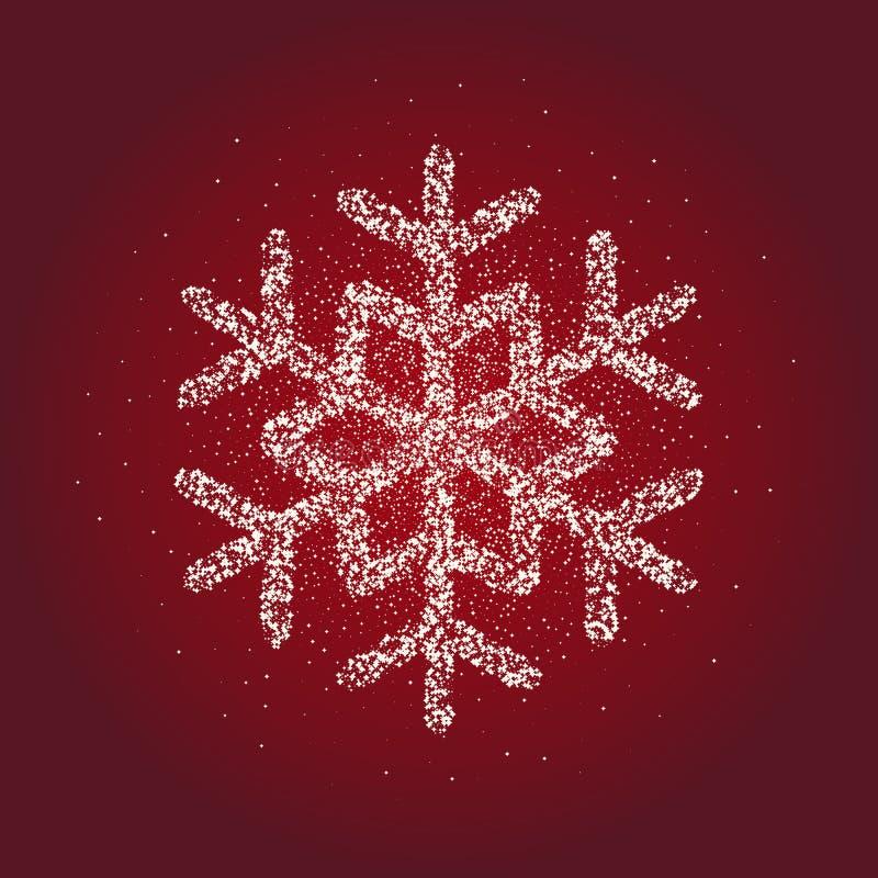Dit is dossier van EPS10-formaat Kerstmis en nieuw jaar, Kerstmis, de wintersymbool Voorraad - vector royalty-vrije illustratie