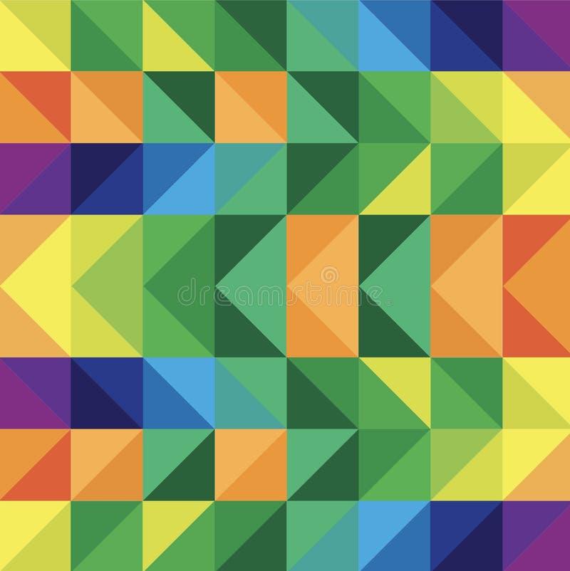 Dit is een kleurenachtergrond in een dekbedpatroon om gebruikte a te zijn vector illustratie