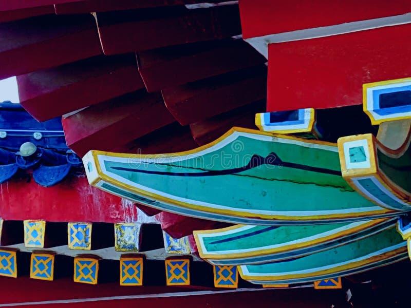 Dit is het landschap van de oude de bouwstraat in Huizhou, China royalty-vrije stock fotografie