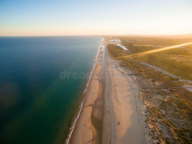 Dit is Manta-Rota in Algarve stock foto's
