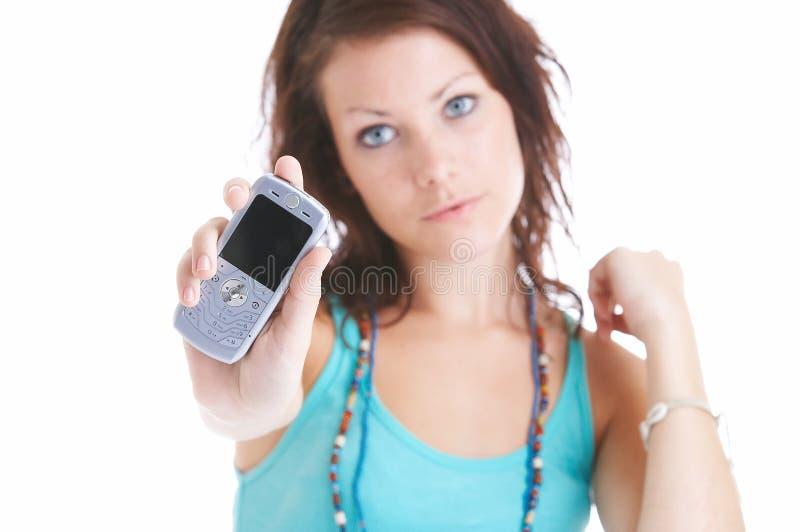 Dit is mijn mobiel stock foto