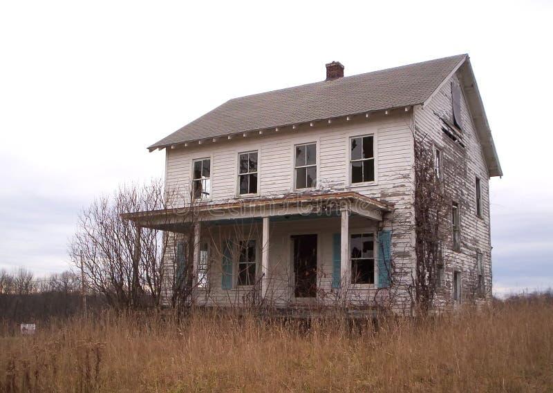 Dit oude huis stock foto