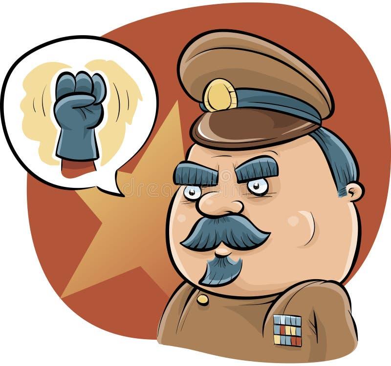 Ditador Fist ilustração royalty free