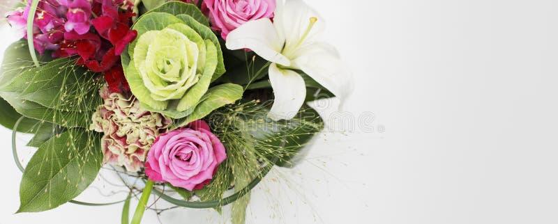 Dites-le avec des fleurs photographie stock
