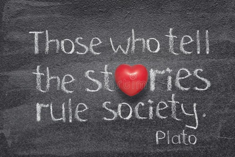 Dites le coeur d'histoires photos stock