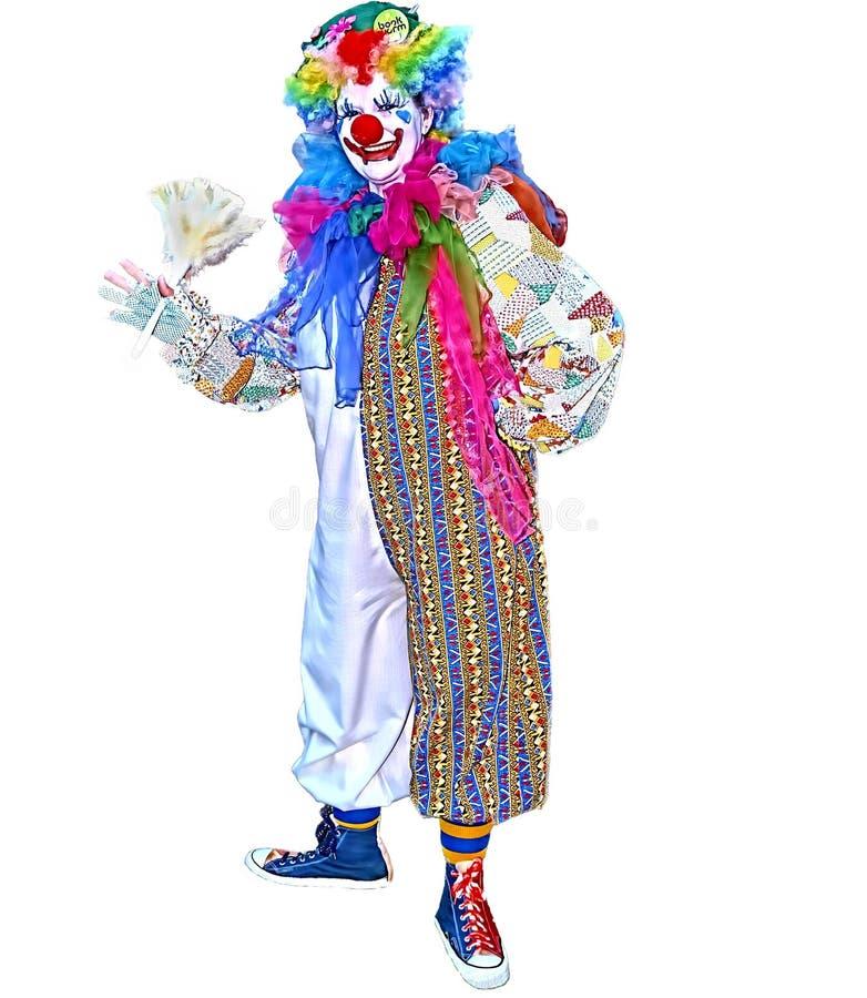 Dito der Clown stockbild