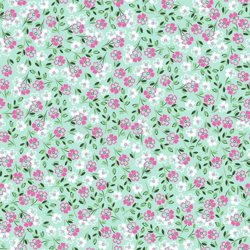 Ditsy floral stock de ilustración