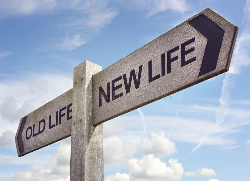 Ditt nya liv arkivfoto