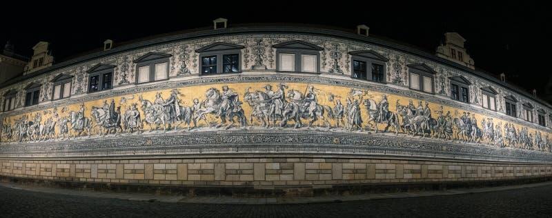Diuka korowód Drezdeński Niemcy zdjęcie royalty free