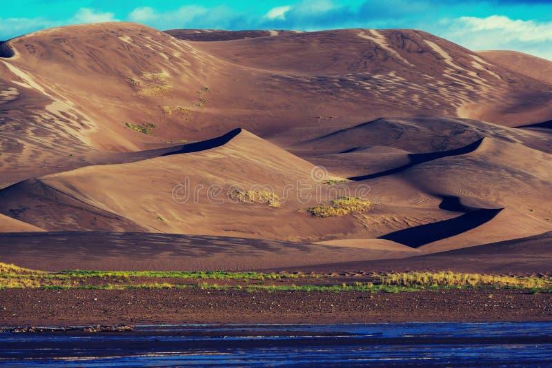 diuna wielki piasek obrazy royalty free