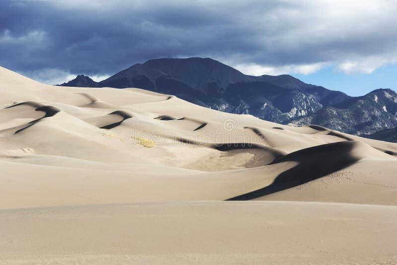 Diuny, Wielkie piasek diuny obrazy stock